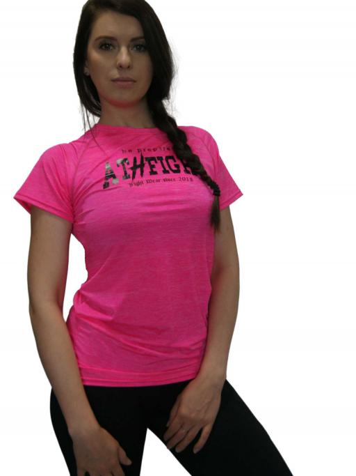 Frauen Trainingsshirt pink